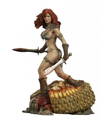 FIGURA ESTATUA RED SONJA 51 CM