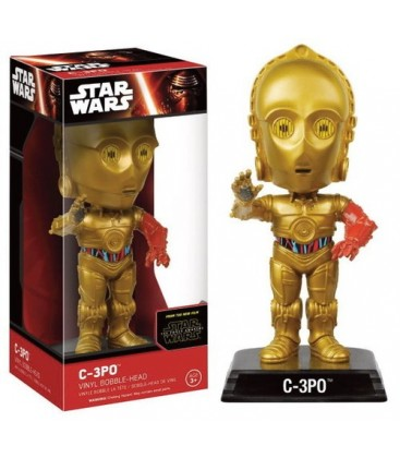 CABEZON STAR WARS : EP VII C3PO
