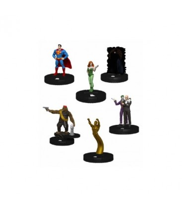 DC HEROCLIX - SUPERMAN / BATMAN BRICK
