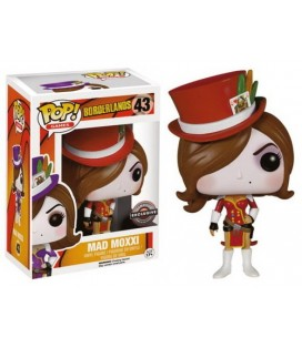 FIGURA POP BORDERLANDS: MAD MOXXI LIMITED RED