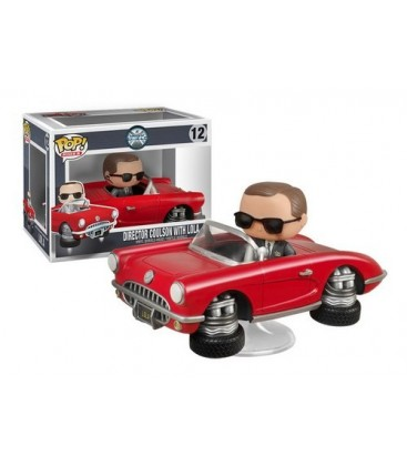 FIGURA POP MARVEL: LOLA AND COULSON