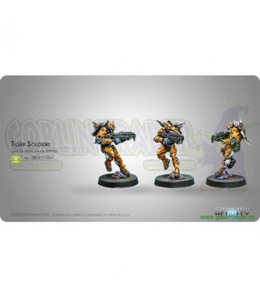YU JING- TIGER SOLDIERS ( SPITFIRE )