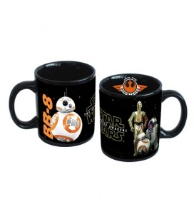 TAZA STAR WARS EPISODIO VII DROIDS