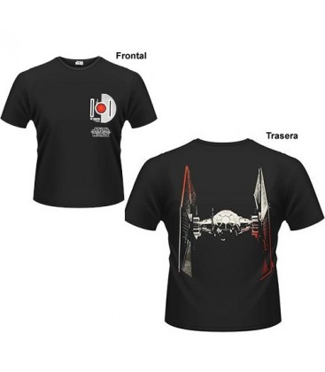 CAMISETA STAR WARS EPISODIO 7 TIE FIGHTER XL
