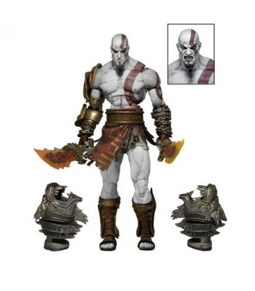 FIGURA GOD OF WAR 3 - ULTIMATE KRATOS DELUXE 18 CM