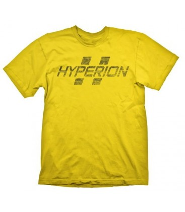 CAMISETA BORDERLANDS - HYPERION LOGO S