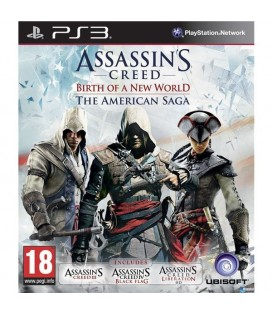 PS3 ASSASSINS CREED BIRTH OF A NEW WORLD