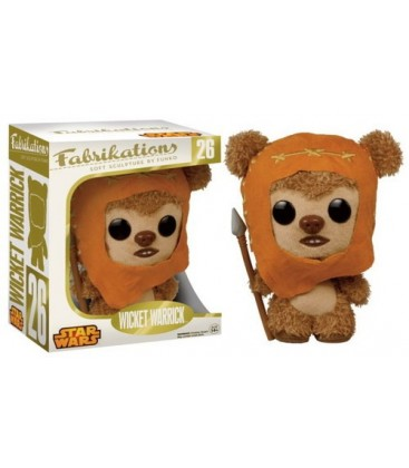 PELUCHE POP STAR WARS - WICKET EWOK WARRIOR